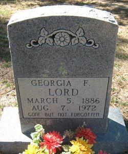 Georgia F Lord