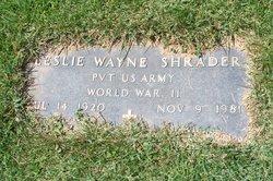 Leslie Wayne Shrader