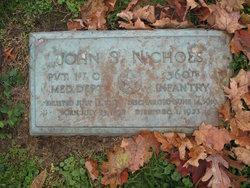 Pvt John S. Nichols