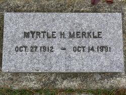 Myrtle Hazel <I>Berry</I> Merkle
