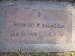 Winifred E Dalacker