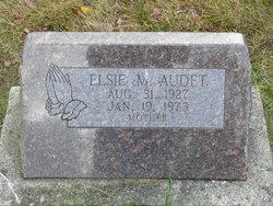 Elsie M <I>Sawyer</I> Audet