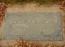 Edgar P Burton