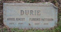 Muriel <I>Durie</I> Kimzey
