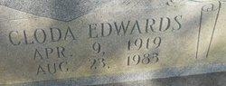 Myrtle Cloda <I>Edwards</I> Bagwell