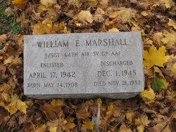 Sgt William E. Marshall