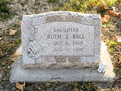 Ruth J. <I>Cain</I> Ball