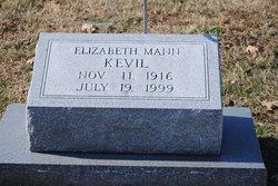 Elizabeth <I>Mann</I> Kevil
