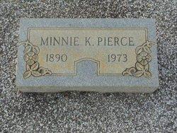 Minnie Frank <I>Kennedy</I> Pierce