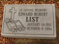 Edward Robert List