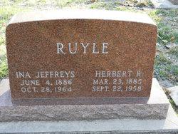Ina Adella <I>Jeffreys</I> Ruyle