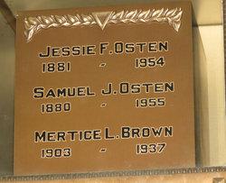 Jessie F Osten