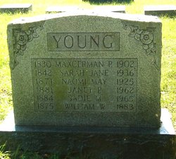 Sadie M Young