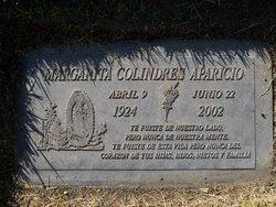 Margarita <I>Colindres</I> Aparicio