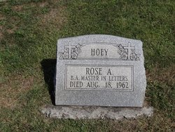 Rose A. Hoey