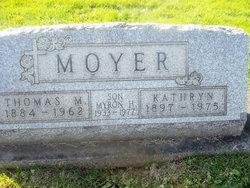 Kathryn <I>Shaffer</I> Moyer