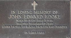 """John Edward """"Jack"""" Rooke"""