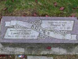 Frances M Brown
