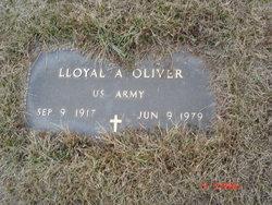 Lloyal A. Oliver