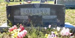 Allie <I>Gault</I> Lofland