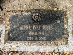 Alpha Inez Jones