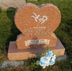 Marjorie M. <I>Johnson</I> Denman