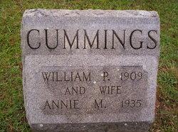 Annie M <I>Thompson</I> Cummings