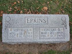 Bertha E Epkins