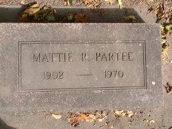 Mattie R Partee