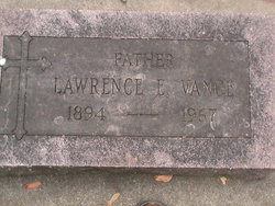 Lawrence E Vance