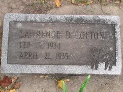 Lawrence D Lofton
