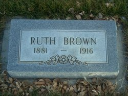 Ruth Caroline <I>Hilbrant</I> Brown
