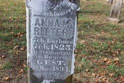 Anna M. <I>Lochner</I> Ritter