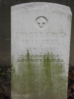 LCDR Ernest Fred Mitchell