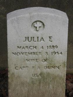 Julia E. Dunn