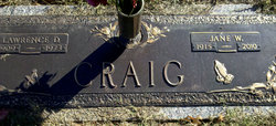 Jane W Craig