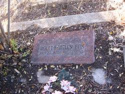 Violet Bentley Fox