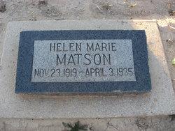 Helen Marie Matson