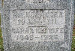 Sarah E <I>Crossley</I> Bolander