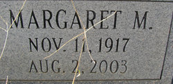 Margaret M Lee