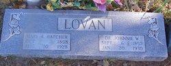 Mary Alice <I>Hatcher</I> Lovan