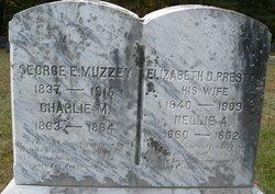 Elizabeth D. <I>Preston</I> Muzzey