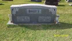 "Bernice Marie ""Bernie"" <I>Rutledge</I> Britt"
