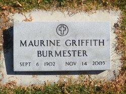 Maurine <I>Griffith</I> Burmester