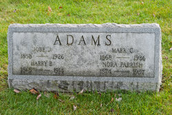Nora <I>Parrish</I> Adams