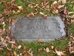 Betty Lou <I>DeLong</I> Brenton