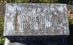 Anna Maria <I>Beadle</I> Albright