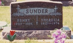 Theresia Anna <I>Wolbeck</I> Sunder