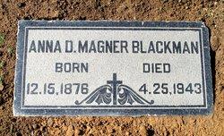 Anna Dole <I>Magner</I> Blackman