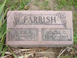 Hazel G Parrish